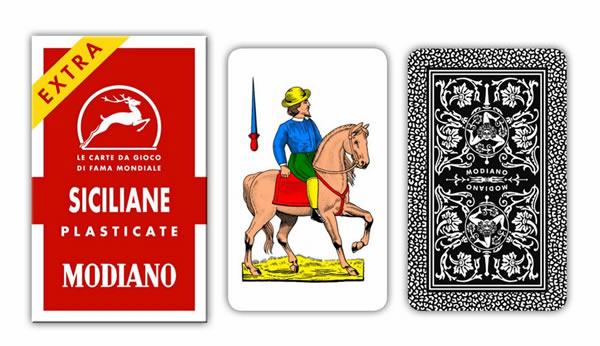 画像1: MODIANO シチリアーノ・トランプ Siciliane 96 300096 【カラー・マルチ】