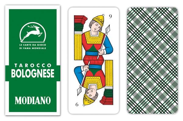 画像1: MODIANO ボロニェーゼ・タロット Tarocco Bolognese 60【カラー・マルチ】