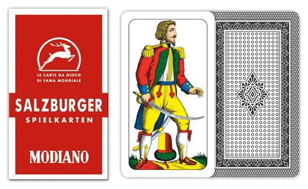 画像1: MODIANO サルツブルグ・トランプ Salisburghesi 31 300085 【カラー・マルチ】