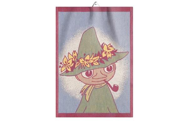 画像1: ムーミン キッチン布巾 スナフキン