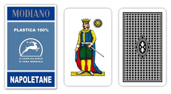 画像1: MODIANO ナポリタン・トランプ Napoletane 97/10 300154【カラー・マルチ】