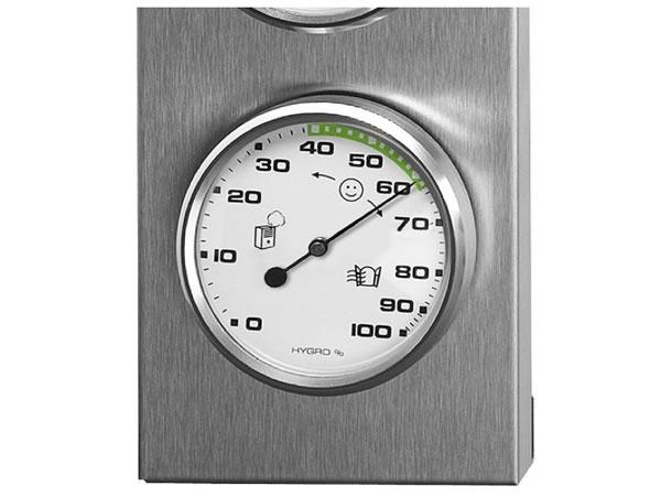 画像2: シンプルな湿度計・温度計・気圧計【カラー・ホワイト】【カラー・グレー】