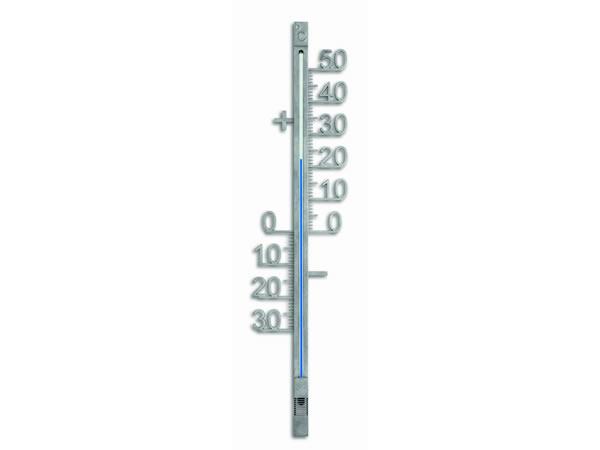 画像1: シンプルな温度計【カラー・グレー】【カラー・ブルー】