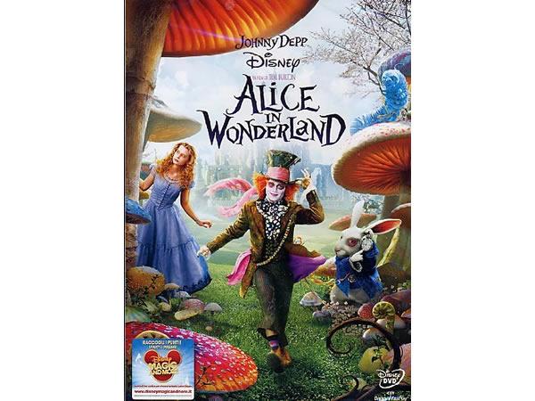 画像1: イタリア語などで観るティム・バートンの「アリス・イン・ワンダーランド」 DVD  【B1】【B2】【C1】