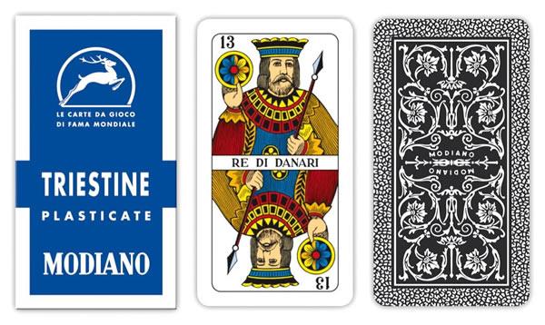 画像1: MODIANO トリエステ・トランプ Triestine 99/25 300128【カラー・マルチ】