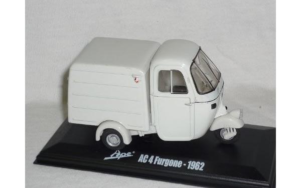 画像1: Italeri アーペ AC4 Furgone 1962【カラー・ホワイト】