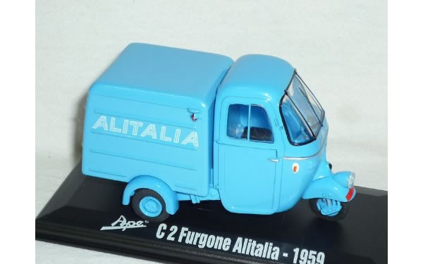 画像1: Italeri アーペ Furgone Alitalia 1959【カラー・ブルー】