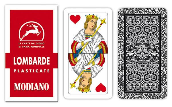 画像1: MODIANO ロンバルディア・トランプ Lombarde 6 300026【カラー・マルチ】