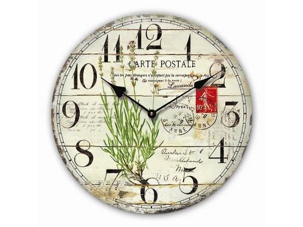 画像1: アンティーク風鳥モチーフの上品掛け時計【カラー・イエロー】【カラー・グリーン】