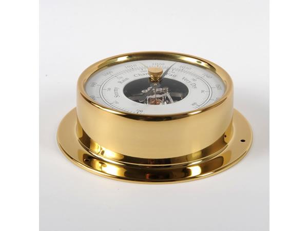 画像2: シンプルな気圧計 ゴールド【カラー・ホワイト】【カラー・イエロー】