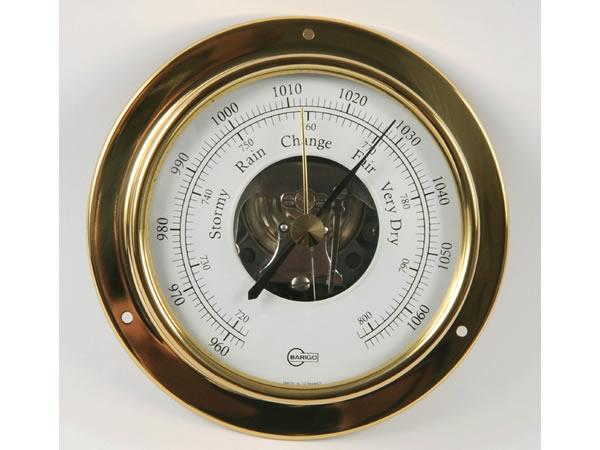 画像1: シンプルな気圧計 ゴールド【カラー・ホワイト】【カラー・イエロー】