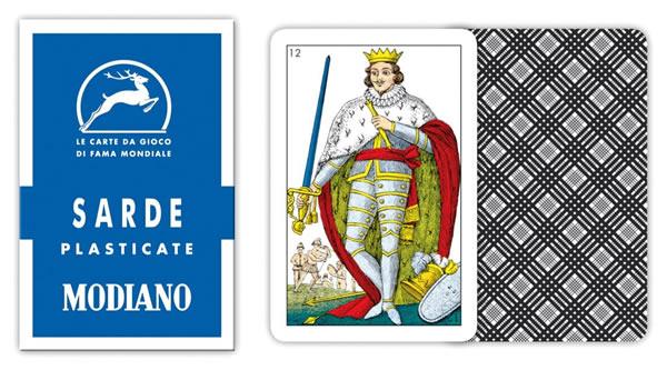 画像1: MODIANO サルデーニャ・トランプ Sarde 70 300090 【カラー・マルチ】