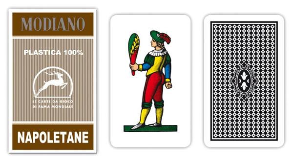 画像1: MODIANO ナポリタン・トランプ Napoletane 97/10 300155 【カラー・マルチ】