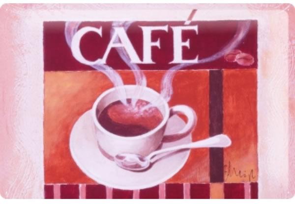 画像1: アンティーク風サインプレート イタリア エスプレッソ Espresso 30x20cm【カラー・マルチ】
