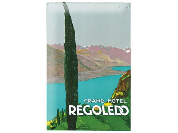 画像1: アンティーク風サインプレート イタリア ガルダ湖 Lago di Garda 30x20cm【カラー・マルチ】【カラー・ブルー】