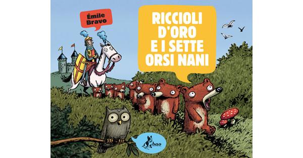 画像1: イタリア語で読む、絵本 金髪姫と7人の熊の小人 【A2】 【B1】