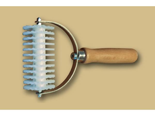 画像1: 手打ちパスタ用 12枚刃タリアテッレ波型カッター 7 mm