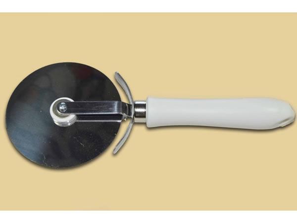 画像1: 手打ちパスタ用 回転式カッター ピザ、ケーキに 88 mm