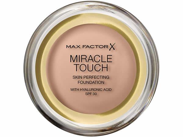 画像1: 【7色展開】MAXFACTOR X コンパクトファンデーション MIRACLE TOUCH SKIN PERFECTING FOUNDATION WITH HYALURONIC ACID SPF 30