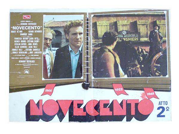 画像1: イタリア 映画 アンティークポスター Novecento (1976年) 1900年  ベルナルド・ベルトルッチ 50 x 70 cm FOTO BUSTE
