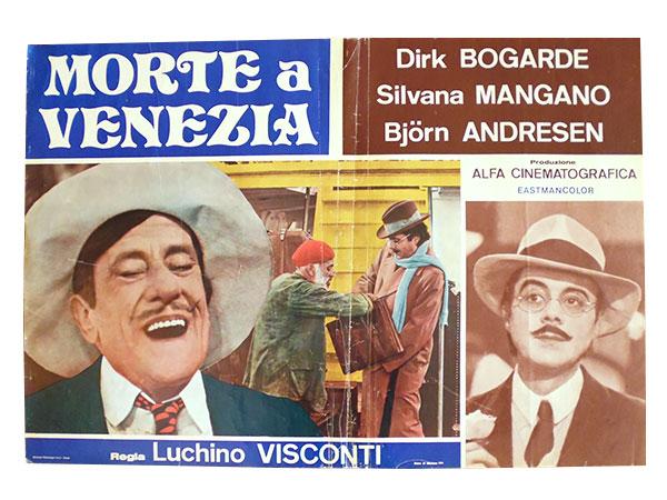 画像1: イタリア 映画 アンティークポスター La morte a Venezia (1971) ベニスに死す ルキノ・ヴィスコンティ 50 x 70 cm FOTO BUSTE
