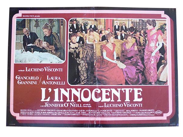 画像1: イタリア 映画 アンティークポスター L'innocente (1976年) イノセント ルキノ・ヴィスコンティ 50 x 70 cm FOTO BUSTE