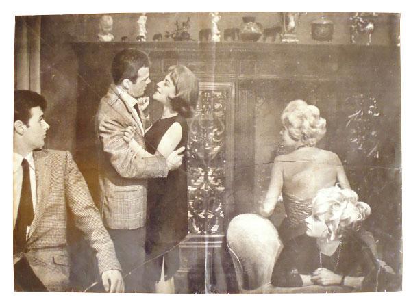 画像1: イタリア 映画 アンティークポスター Rocco e i suoi fratelli (1960年) 若者のすべて ルキノ・ヴィスコンティ 50 x 70 cm FOTO BUSTE