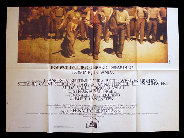 画像2: イタリア 映画 アンティークポスター Novecento (1976年) 1900年  ベルナルド・ベルトルッチ 100 x 140 cm manifesti