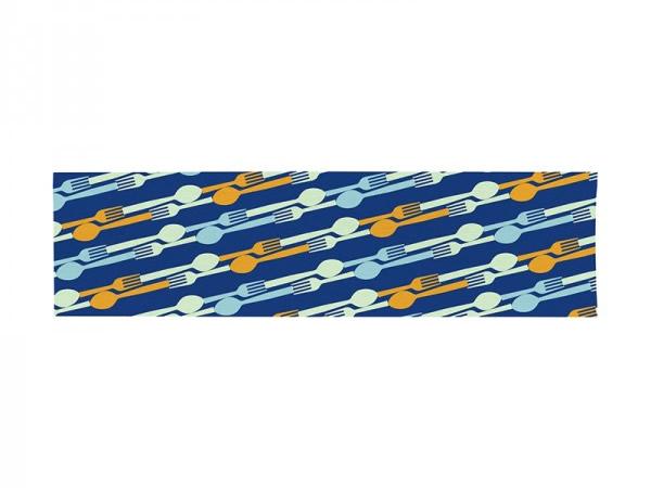 画像1: 3柄展開 BARILLA テーブルランナー 150 x 44 cm バリッラ【カラー・ブルー】【カラー・イエロー】【カラー・マルチ】