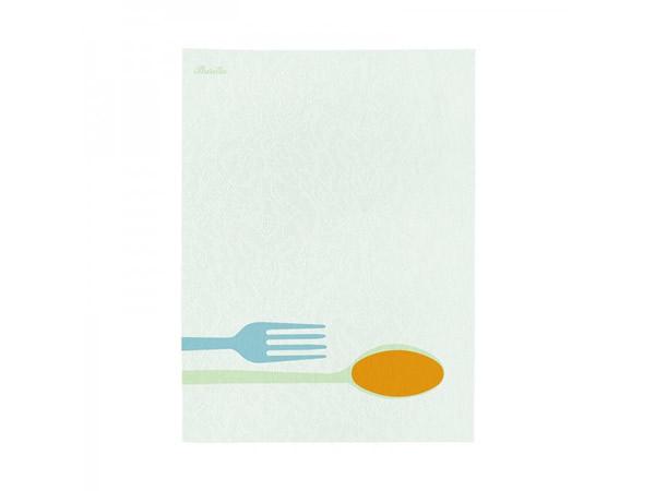 画像1: 4柄展開 BARILLA 布巾 50 x 70 cm バリッラ【カラー・ブルー】【カラー・イエロー】【カラー・マルチ】