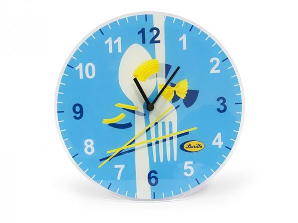 画像1: 2柄展開 BARILLA 壁掛け時計 30 cm バリッラ【カラー・ブルー】【カラー・イエロー】【カラー・マルチ】