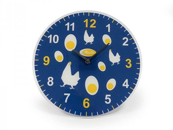 画像2: 2柄展開 BARILLA 壁掛け時計 30 cm バリッラ【カラー・ブルー】【カラー・イエロー】【カラー・マルチ】