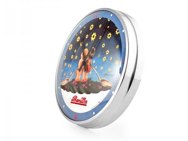 画像1: 4柄展開 BARILLA 壁掛け時計 バリッラ【カラー・ブルー】【カラー・イエロー】【カラー・ブラック】
