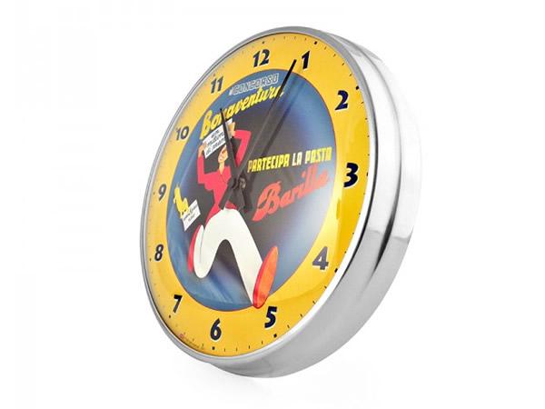 画像2: 4柄展開 BARILLA 壁掛け時計 バリッラ【カラー・ブルー】【カラー・イエロー】【カラー・ブラック】
