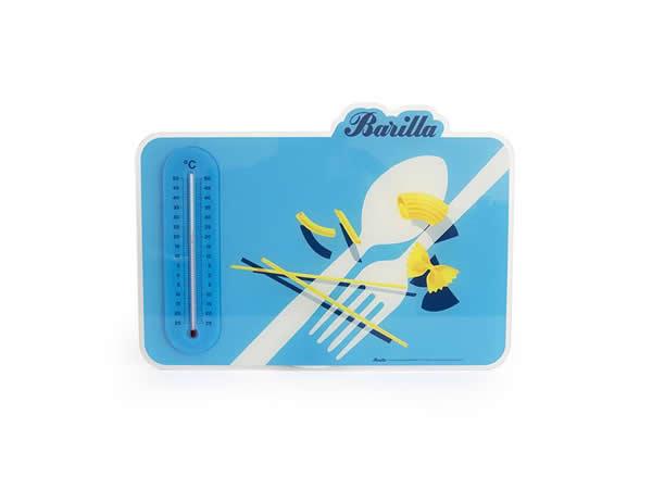 画像2: 2柄展開 BARILLA 壁掛け温度計 40 x 30cm バリッラ【カラー・ブルー】【カラー・イエロー】【カラー・マルチ】