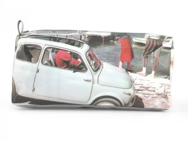 画像4: 4柄展開 FIAT ペンケース フィアット【カラー・レッド】【カラー・イエロー】【カラー・グリーン】【カラー・グレー】【カラー・ホワイト】