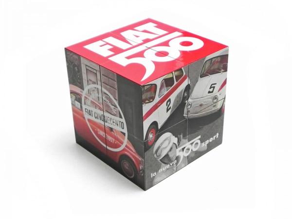 画像1: FIAT 500 マジックキューブ フィアット【カラー・マルチ】