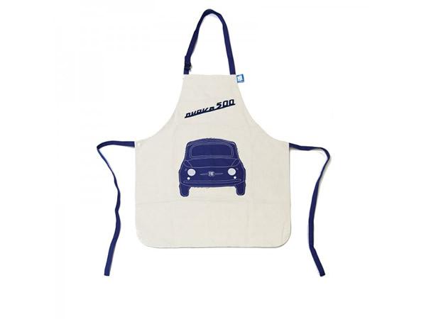 画像4: 4色展開 FIAT 500 エプロン フィアット【カラー・ブルー】【カラー・レッド】【カラー・ホワイト】【カラー・グリーン】