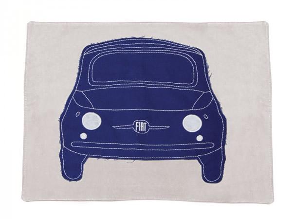 画像4: 4色展開 FIAT 500 ランチプレート プレースマット フィアット【カラー・ブルー】【カラー・レッド】【カラー・イエロー】【カラー・グリーン】【カラー・グレー】