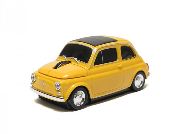 画像1: FIAT 500 マウス フィアット【カラー・イエロー】