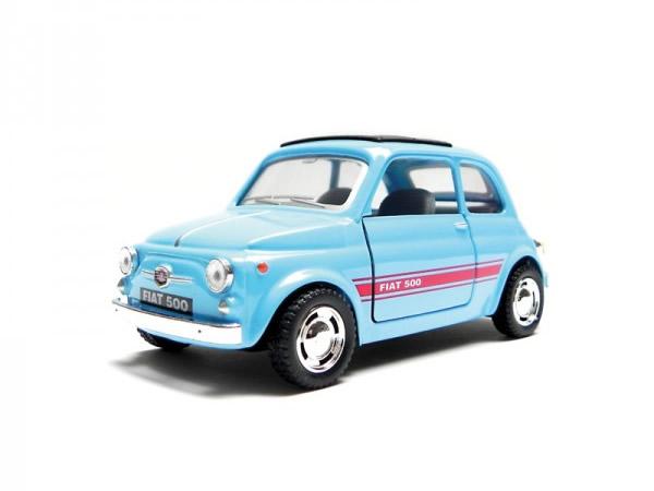 画像1: 4色展開 FIAT 500 モデルカー 模型 フィアット【カラー・レッド】【カラー・ブルー】【カラー・ブラック】
