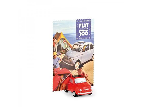 画像1: 4色展開 FIAT 500 写真立て フィアット【カラー・レッド】【カラー・ホワイト】【カラー・ブルー】【カラー・イエロー】