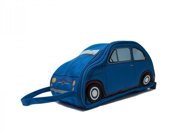 画像1: 3色展開 FIAT ペンケース フィアット【カラー・ブルー】【カラー・レッド】【カラー・イエロー】