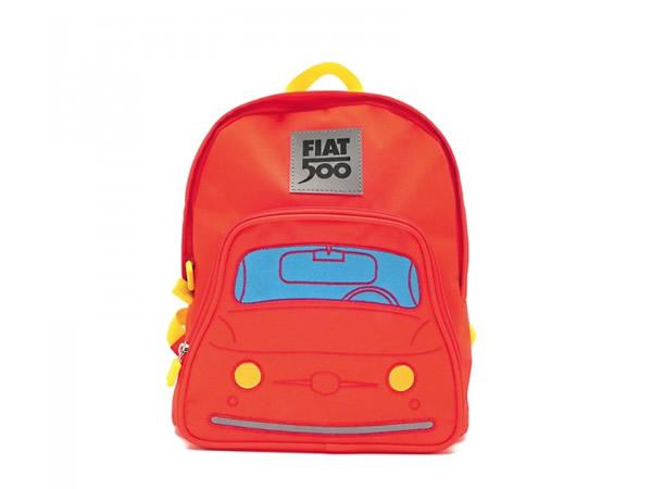 画像2: 2色展開 FIAT 500 子供用リュックサック バックパック フィアット【カラー・ブルー】【カラー・レッド】