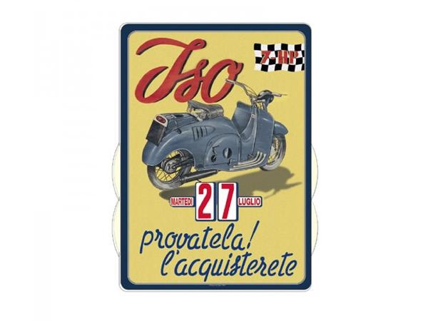 画像1: 万年カレンダー イソ イーゾ ISO - イタリア インテリア【カラー・マルチ】