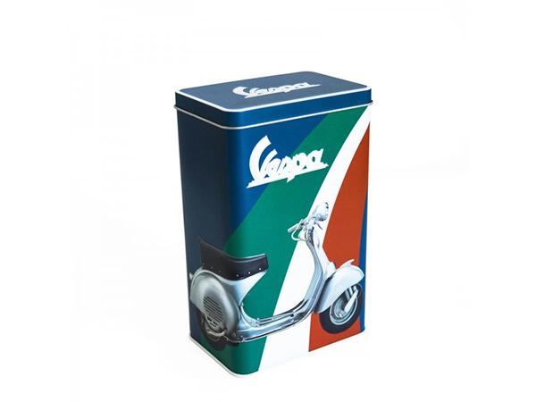 画像3: 3種展開 VESPA 缶ケース ヴェスパ 11 x 7 x 18 cm【カラー・ブルー】【カラー・グリーン】【カラー・レッド】【カラー・イエロー】