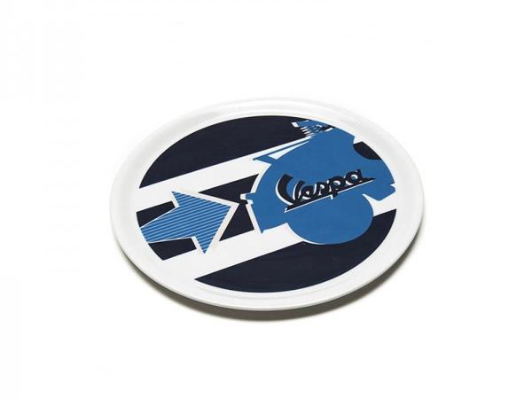 画像3: 4種展開 VESPA お皿 径32cm ヴェスパ【カラー・ブルー】【カラー・ホワイト】【カラー・マルチ】