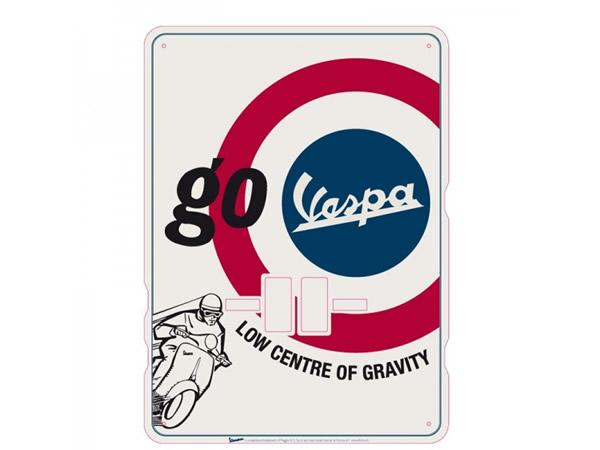 画像1: 万年カレンダー ヴェスパ VESPA - GO VESPA - イタリア インテリア【カラー・レッド】【カラー・ブルー】【カラー・ホワイト】