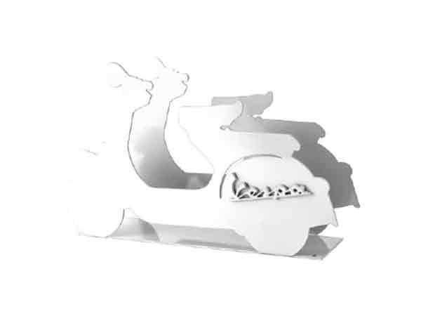 画像2: 3色展開 VESPA レタースタンド ヴェスパ【カラー・ブラック】【カラー・ホワイト】【カラー・イエロー】