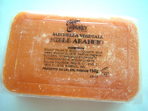 画像5: イタリアのハニーソープ  蜂蜜石鹸 【カラー・オレンジ】